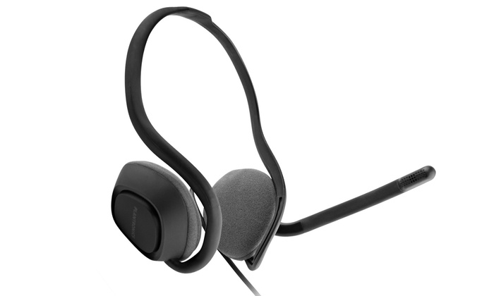 Up To 50% Off on Plantronics USB Wired Headset   Groupon Goods