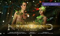 The Return of Neverland, 14 - 17 February at Millfield Theatre (Up to 30% Off)
