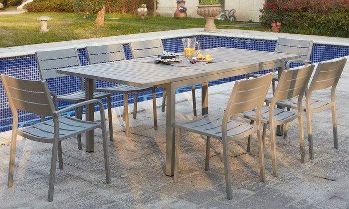 Table jardin ragazza groupon shopping for Table extensible groupon