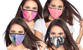 Washable Reusable Non-Medical Fabric Face Masks (3-Pack)