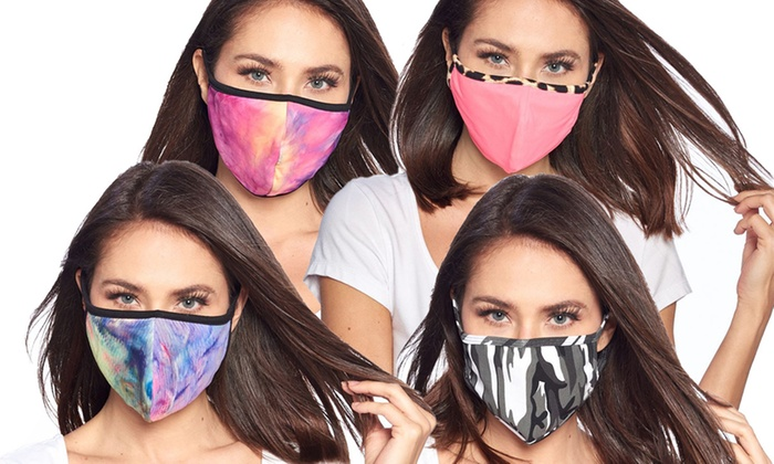 Up To 29 Off On Washable Face Masks 3 Pack Groupon Goods