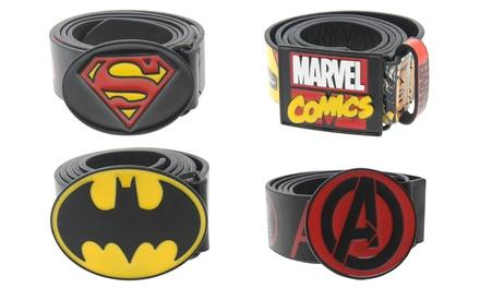 Men's Superhero Marvel and DC Belt for£6.95