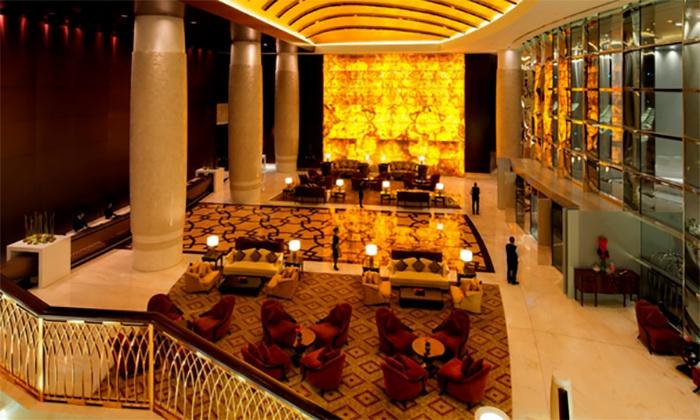 Afternoon Tea Lobby Lounge At 5 Conrad Hotel Dubai Groupon