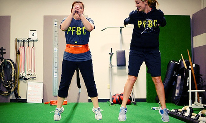 Peak Fitness Workouts - Indian Lake East: Four-Week Boot Camp with Two or Three Sessions a Week at Peak Fitness Workouts (Up to 59% Off)