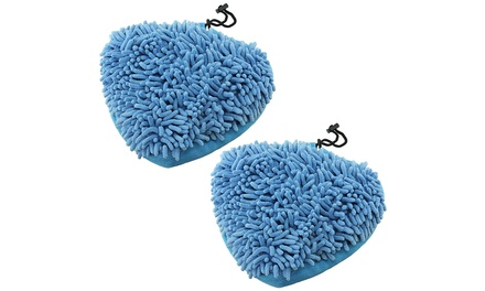 Two Vax Microfibre Coral Mop Pads for Steam Cleaners