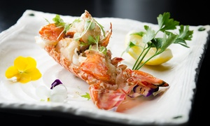 Wharf Teppanyaki by Kobe Jones: $69 for a 10-Course Teppanyaki with Cocktail, or $88 to Add Lobster at Wharf Teppanyaki by Kobe Jones (Up to $185 Value)