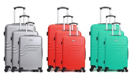 Set di 3 valigie American Travel