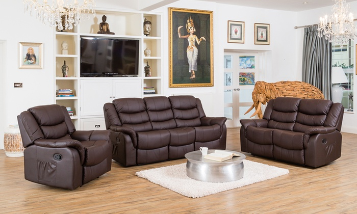 Carmona Leather Reclining Sofa Collection