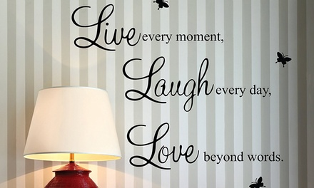 Wall Quote Stickers