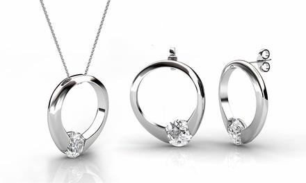 Parure Ring de la marque Her Jewellery ornée de cristaux Swarovski®