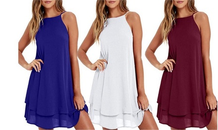 $15 for One or $25 for Two High Neck Layered Dresses