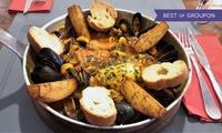 2 menus mentonnais valables midi et soir en semaine ou le week-end dès 29,90 € au restaurant Ou Pastre