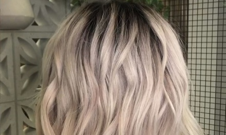 Wash, Cut and Blow-Wave ($49) with Colour or Half-Head Foils ($79) or Full-Head Foils ($99) at White Ivy Hair Studio