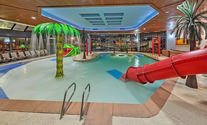 Tulsa Wyndham Hotel with Indoor Water Play Land