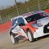 Pilotage de voiture de Rallye