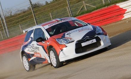 4 à 10 tours de pilotage sur circuit au volant dune voiture de rallye au choix dès 24,99 € avec Conduire à Lohéac
