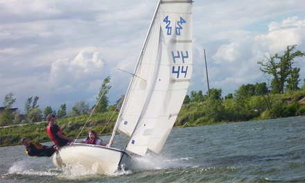 Introductory Sailing for Youths/Adults or Certification Courses for Kids from Sail Manitoba (50% Off)