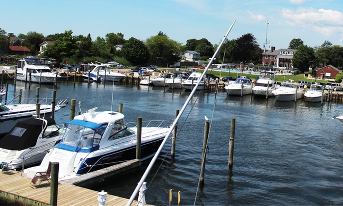 Long Island Yacht Club - Babylon: Short-Term Membership or 2 Nights of Boat Docking with Dining Voucher at Long Island Yacht Club (Up to 30% Off)