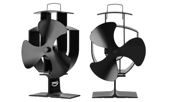 zennox ventilator f r kaminofen groupon goods. Black Bedroom Furniture Sets. Home Design Ideas