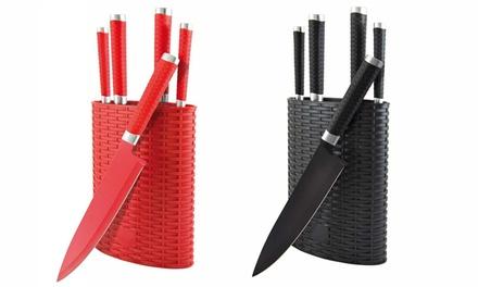 Six-Piece Knife Block Set