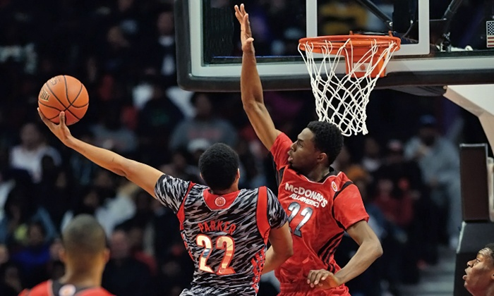 McDonald's All American Game - United Center: McDonald's All American High School Basketball Games on April 2 at 6 p.m. (Up to 34% Off). Two Seating Options.