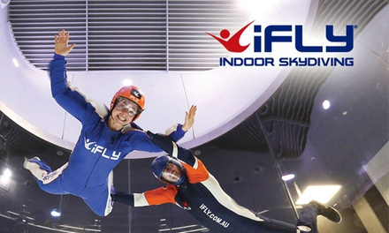 iFLY Indoor Skydiving Penrith: 2 $99, 4 $139 or 10 Flights $349, or Package for Up to 5 People $399