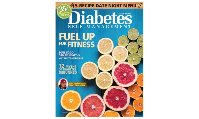 Diabetes magazine subscription groupon goods 1 year 6 issue subscription to diabetes self management magazine forumfinder Images