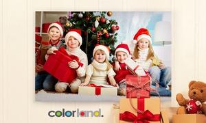 Colorland: Od 4,99 zł: fotoobraz z Twoim zdjęciem na prawdziwym płótnie canvas na Colorland.pl (do -96%)