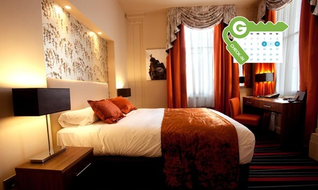 Liverpool: Standard or Superior Double Room for Two with Wine and Late Check-Out at Heywood House Hotel