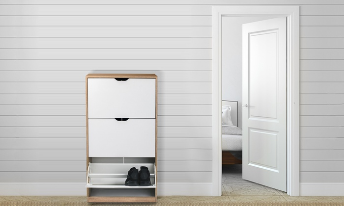 homekraft schuhregal mit schubladen groupon. Black Bedroom Furniture Sets. Home Design Ideas