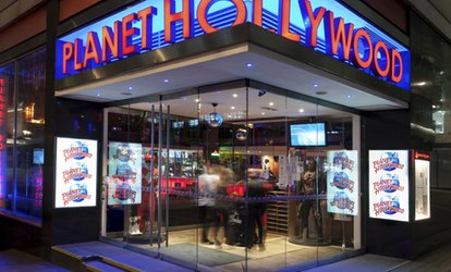 Choice of Three or Six Cocktails at Planet Hollywood (Up to 50% Off)