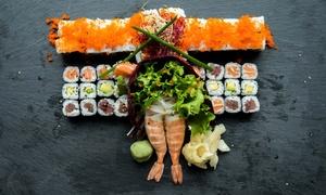 Restaurant Eden: 3-Gänge-Sushi-Menü für 2 oder 4 Personen im Restaurant Eden (bis zu 56% sparen*)