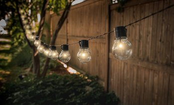 Solar-Powered String Light Bulbs