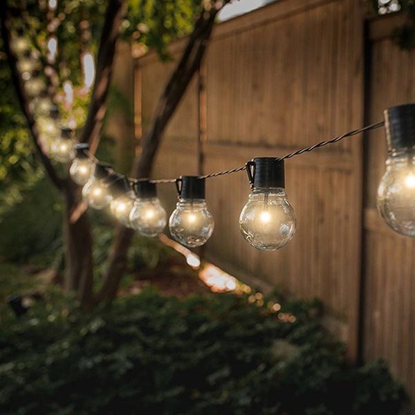 Solar Ed String Light Bulbs