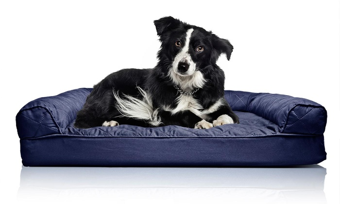 Quilted Orthopaedic Dog Bed Groupon