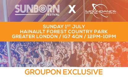 image for Sunborn Festival, Sunday 1 July, Hainault Forest Country Park (Up to 26% Off)