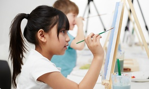 Paint on Main: $15 for a Kids' Summer Art Class at Paint on Main ($30 Value)