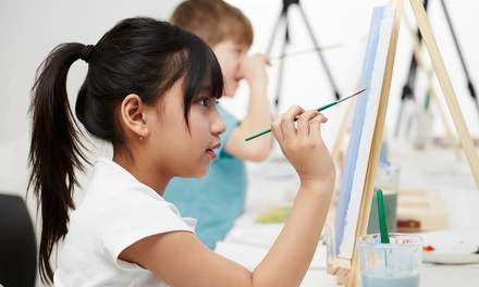 $15 for a Kids' Summer Art Class at Paint on Main ($30 Value)