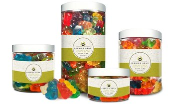 CBD Gummy Bears from Premier Hemp (250mg, 750mg, 1500mg, 3000mg)