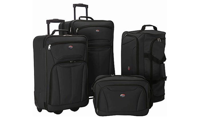 American Tourister Ultra Lightweight Rolling Luggage Set