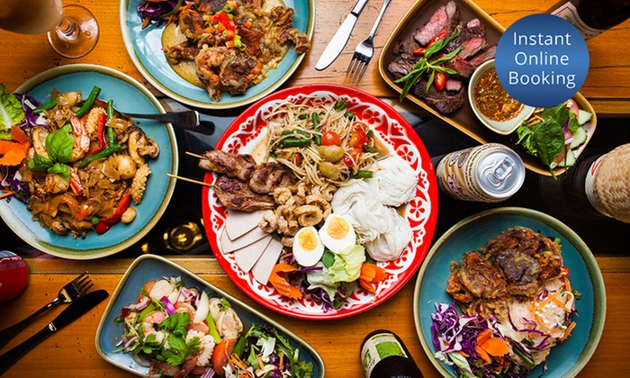 Boo's Kitchen - Woolloongabba: Three-Course Northern Thai / Isan Feast with Wine for 2 ($39), 4 ($75) or 6 People ($110) at Boos Kitchen (Up to $237)