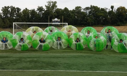 Bubble Soccer Party or Open Bubble Night for Up to Five or Ten People at Neo Bubble Soccer (Up to 43% Off)