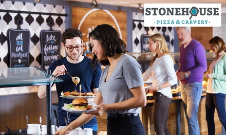 Carvery or Main Meal with Wine, Beer or Soft Drink for Two at Stonehouse, Nationwide