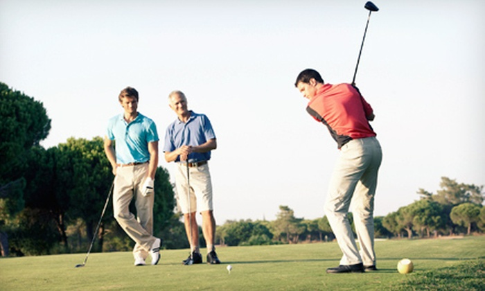 Brookside Golf and Grill - Northeast Grand Rapids: 18-Hole Round of Golf with Cart Rental for Two or Four at Brookside Golf and Grill in Gowen (Up to 54% Off)