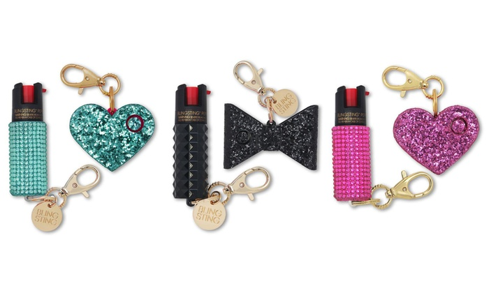 Up To 29 Off On Pepper Spray Safety Charm Set Groupon Goods