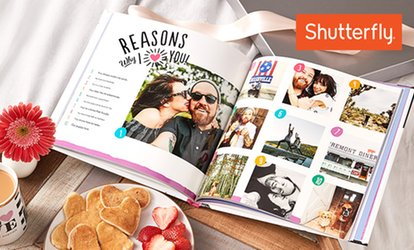 image for Custom Photo Books from Shutterfly (Up to 83% Off)