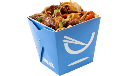 Asian Fusion Meal for One or Two at Wok and Go (Up to 26% Off)