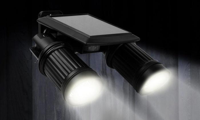 Gardman Solar Wall Lights : Solar-Powered Security Light Groupon Goods