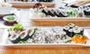 Wybrany zestaw sushi