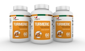 Iberica Labs Turmeric Extract with Black Pepper (1- or 3-Pack)